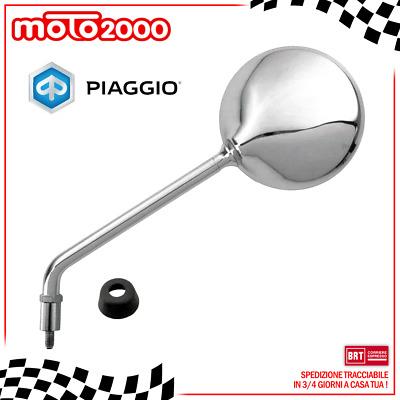 SPECCHIO SPECCHIETTO DESTRO CROMATO LIBERTY 50 125 150 200 ORIGINALE PIAGGIO CM262702