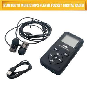 Universell-Tasche-DAB-Fm-Receiver-Tragbares-Radio-Antenne-Eingebauter