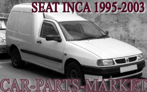 Côté Droit Aile Porte Miroir Verre Pour Seat Inca 1995-2003 Chauffé Plaque