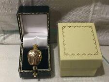 NUOVO DIOR TENDRE POISON PROFUMO BOTTIGLIA a forma di spilla pin Placcato Oro senza profumo.