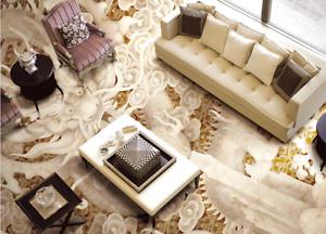 Patrón de Dragón 3D 63 Impresión De Parojo Papel Pintado Mural de piso 5D AJ Wallpaper Reino Unido Limón