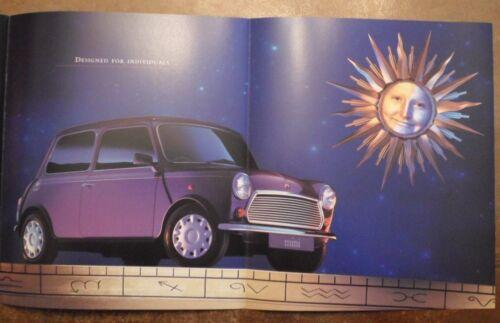 MINI EQUINOX orig 1995 UK Mkt Sales Brochure 5082