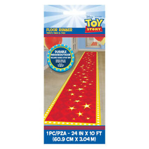 TOY-STORY-4-FABRIC-FLOOR-RUNNER-Birthday-Party-Supplies-Decoration-Room