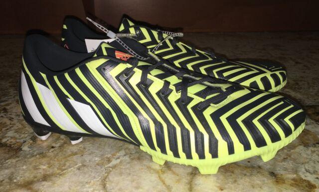 3745a6c44d9c ADIDAS Predator Absolion Instinct FG Soccer Cleats Yellow NEW Mens Sz 8.5  11 12
