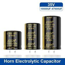 2pcs Jccon Audio Electrolytic Capacitor 35v 10000uf 22000uf 47000uf Hifi Low Esr