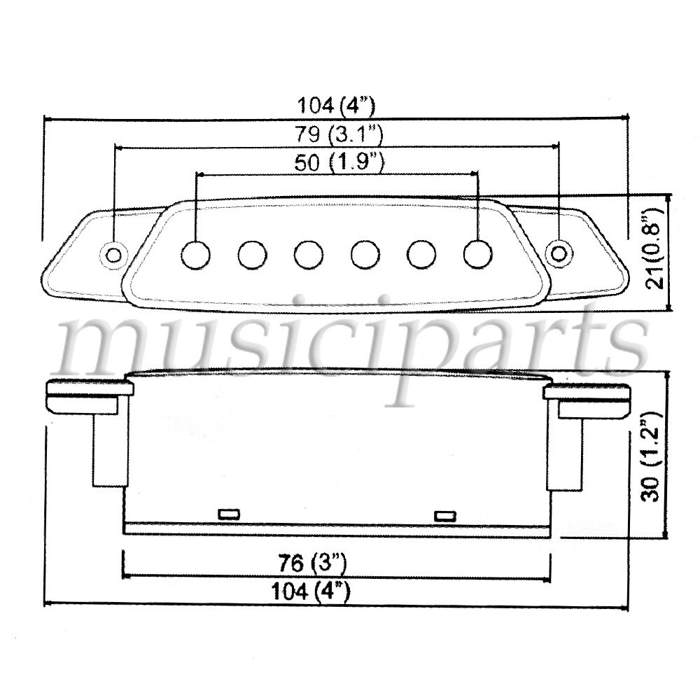 belcat soundhole pickup with power jack for acoustic