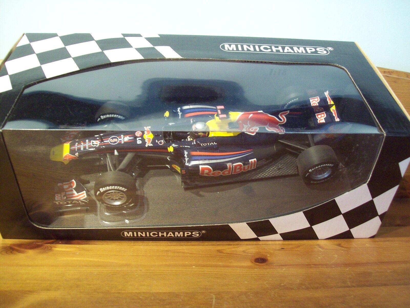 1 18 rouge Bull Racing Renault RB6 Sebastian Vettel Champion du Monde 2010