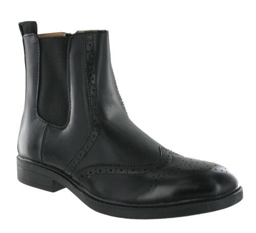 Distributeur Richelieu Fermeture Chaussures Éclair Enfiler Côté Chelsea À Robe qw7S11