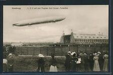 02490) DR, Foto-AK Zeppelin LZ 12 Flugplatz Gross Borstel Fuhlsbüttel **