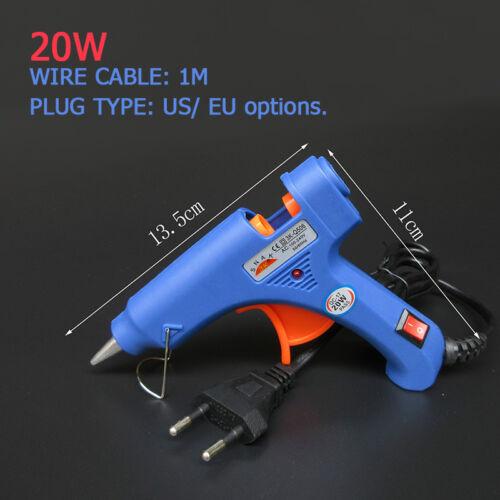 20W 100W Professional Mini Electric Heating Temperature Hot Melt Glue Gun EU//US