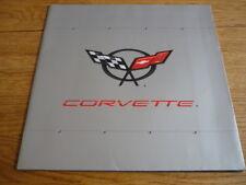 CHEVROLET CORVETTE CAR BROCHURE 1991  jm
