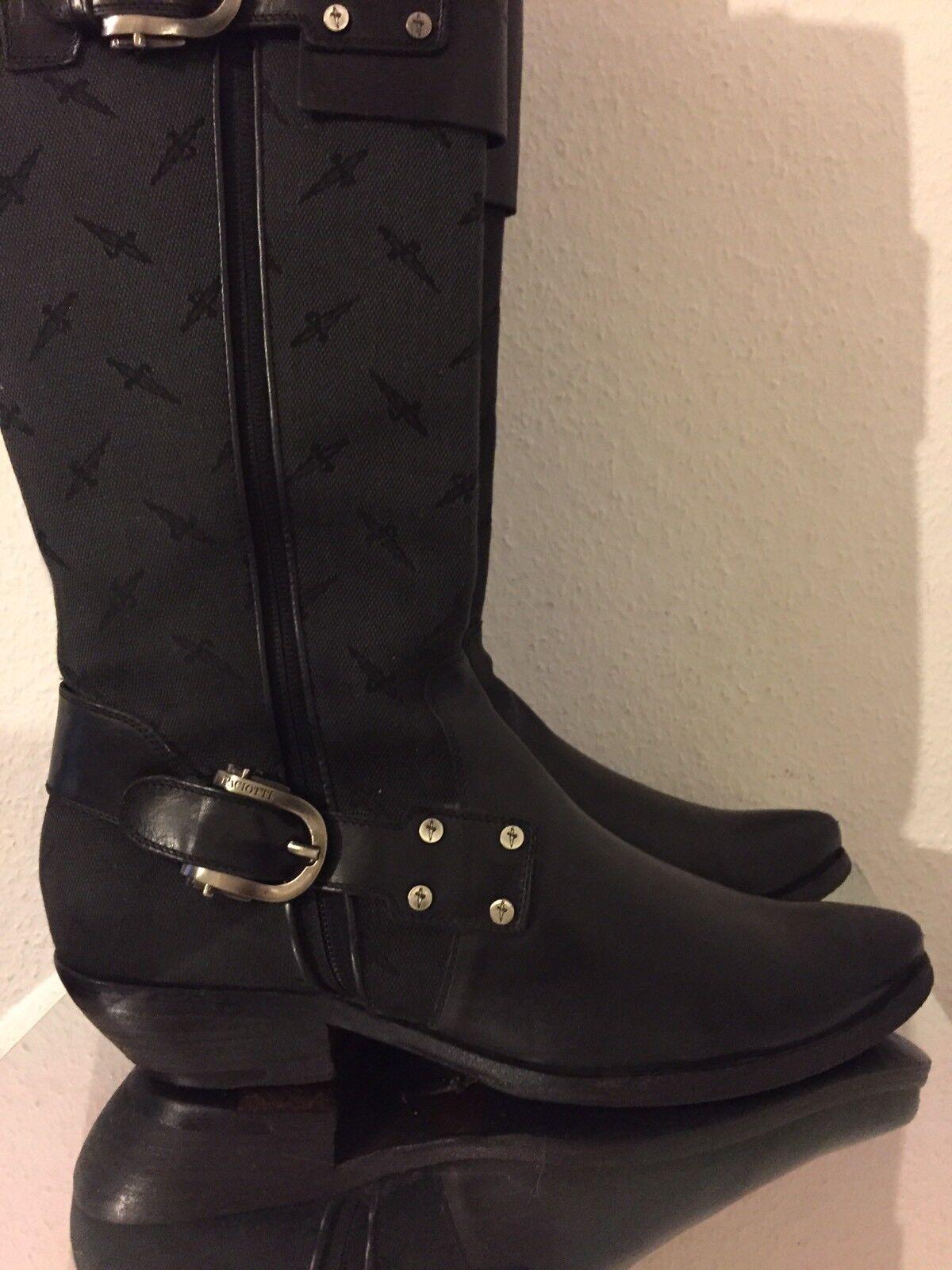 PACIOTTI di stivali di PACIOTTI pelle TG 38 Nero 77c63f