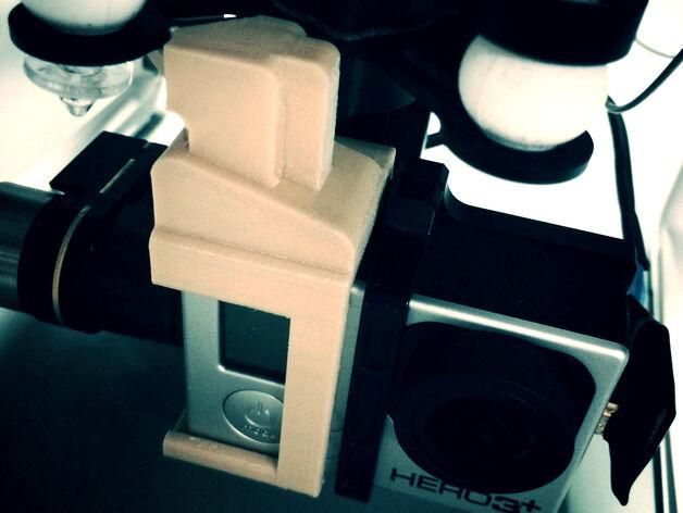 DJI Phantom 2 Zenmuse  H3-3D H4-3D Gopro Gimbal lock vert style x2