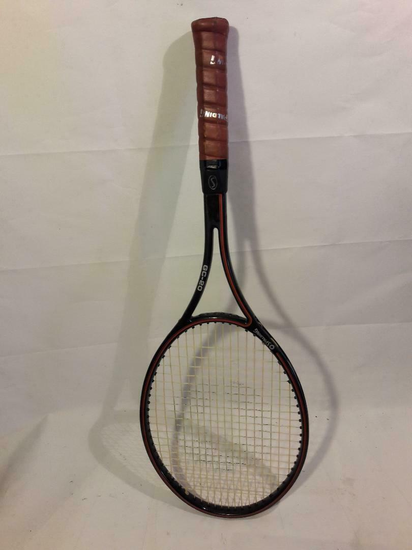 Spalding GC-20 Vintage Tennis Racquet 4  3 8 LGrip w  Cover