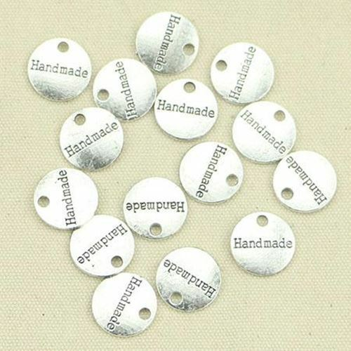 35pcs Tibetan BRONZE Plated plates hand made Charms Pendants for Jewelry Making