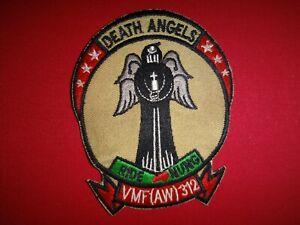 Guerra-Vietnam-Parche-Usmc-Marina-Fighter-Attack-Escuadron-Vmf-Aw-312-Muerte