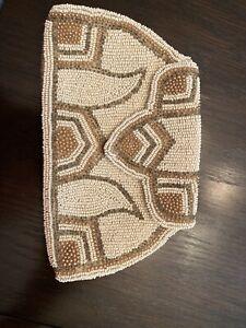 Vintage Handmade Beaded Clutch