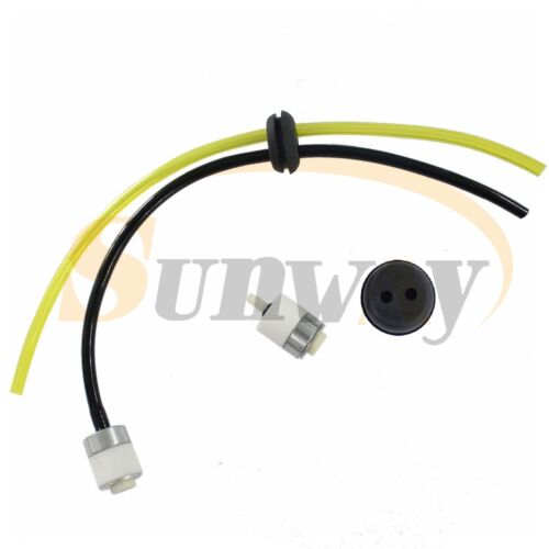 Fuel Hose Pipe W// Tank Filter Grommet For Brush Cutter Petrol Strimmers 181767