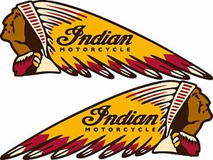 indian motorcycles war bonnet vinyl decal 3 5 x 1 5 perfect rh ebay com indian motorcycle logo vector indian motorcycle logo history