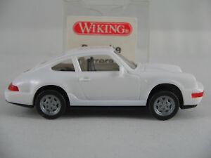 Wiking-16414-Porsche-911-Carrera-4-1988-1994-in-weiss-1-87-H0-NEU-OVP