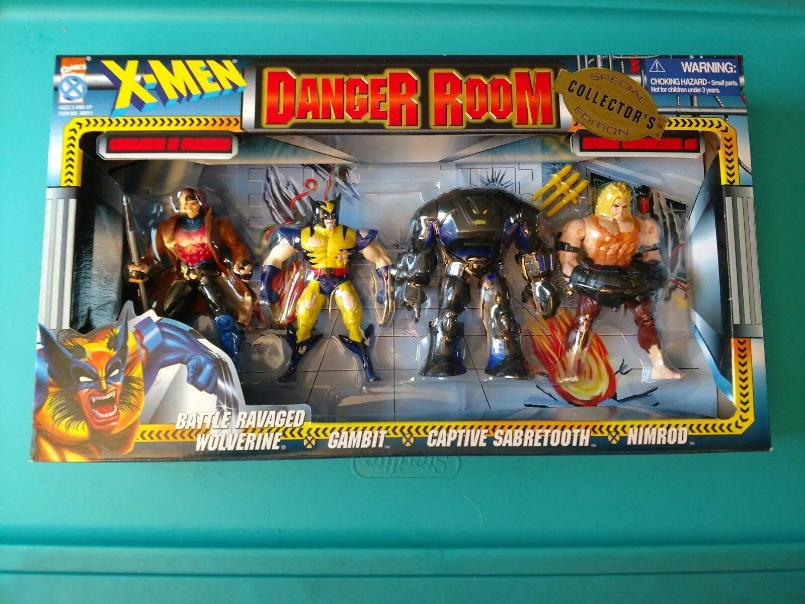 1996 X-Men Danger Room collector's special edition by toybiz.