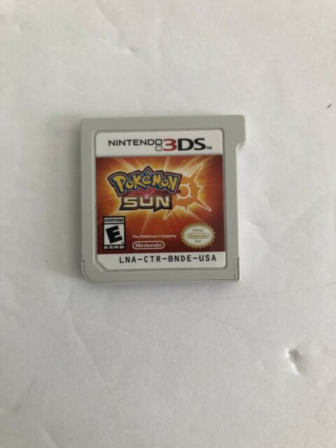 🇨🇦Pokemon Sun (Nintendo 3DS) Cartridge Only
