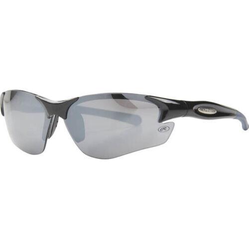 Rawlings 17 Mens Adult Sport Sunglasses Wrap Shade Black//Navy//Smoke 10211095.SPT