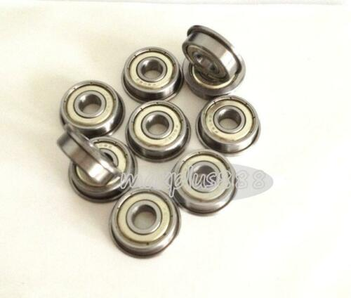 50pcs F686ZZ  Flange Ball Bearing  Metric flanged Bearing 6*13*5 mm New