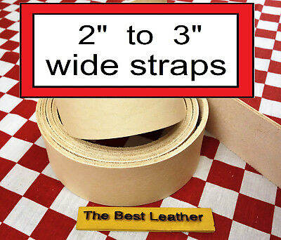 2 Quot To 3 Quot Vegetable Tanned Tooling Leather Belt Blanks
