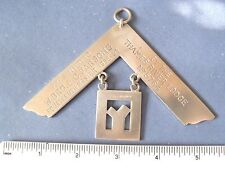 medallion masonic regalia jewel medal  lot b