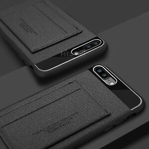 Fits Apple iPhone Case ID Card Wallet Holder Leather kickstand Slim Armor Cover