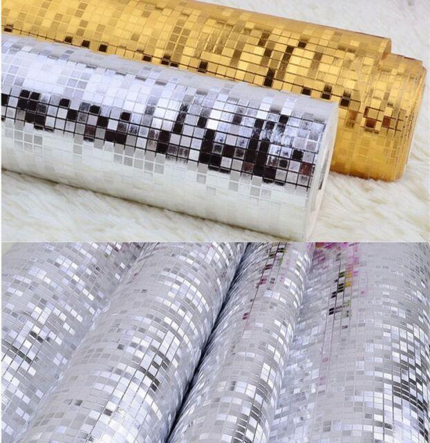 WALLPAPER PROJECT SILVER GOLD 10M ROLL BAR RENOVATION