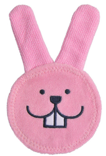 MAM Oral Care Rabbit Teething Cloth - Pink or Blue