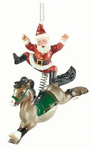 Breyer-700704-2004-Santa-039-s-Wild-Ride-Holiday-Horse-Christmas-Ornament-NIB