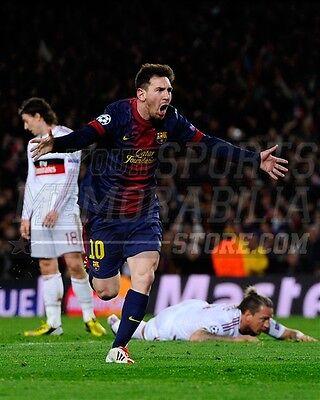 Lionel Messi La Liga club FC Barcelona bicycle kick 8x10 11x14 16x20 photo 3045