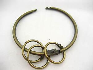 K4 Circle Large Jailors Key Ring