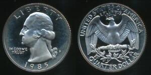 United-States-1985-S-Quarter-1-4-Dollar-Washington-Proof