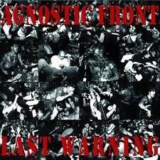 AGNOSTIC FRONT LAST WARNING STRENGHT RECORDS REISSUE LP VINYLE NEUF NEW VINYL