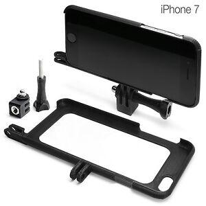 Tripod-Mount-f-iPhone-7-Zubehoer-Stativ-GoPro-Selfie-Adapter-Huelle-Bumper