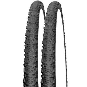 2-x-Schwalbe-CX-Comp-schwarz-MTB-Fahrrad-Reifen-26x2-00-50-559-Semi-Slick