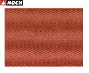NOCH-H0-56690-3D-Kartonplatte-Mauerplatte-034-Biberschwanz-034-1m-57-28-NEU