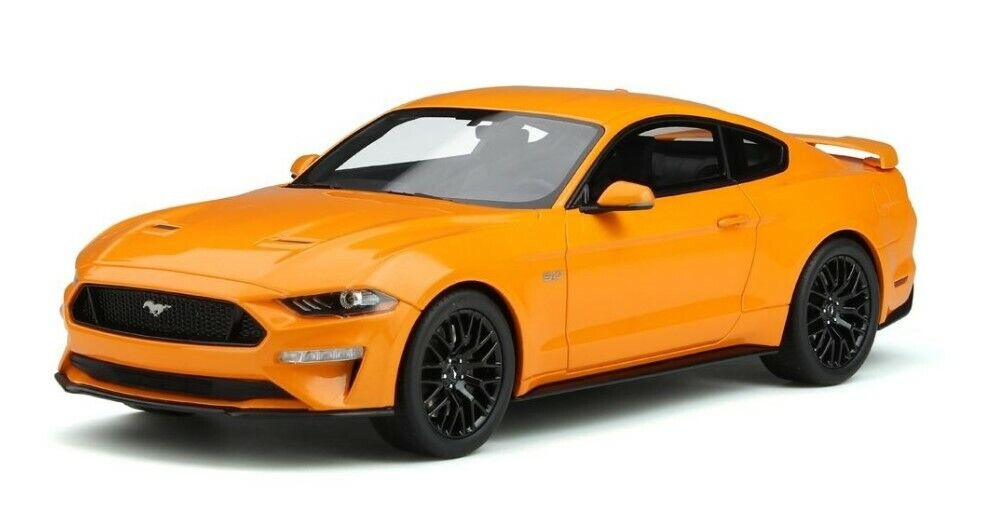 GTS205 gtspirit 1 18 Ford Mustang 2019 GT Orange