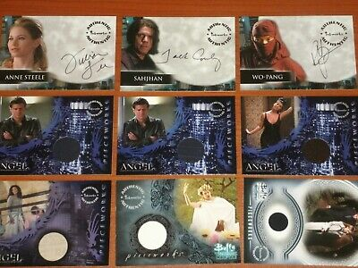 Buffy The Vampire Slayer /& Spike Autograph /& Pieceworks Selection NM