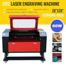 60w 28 X 20 700x500mm Co2 Laser Engraver Cutting Engraving Machine Cutter