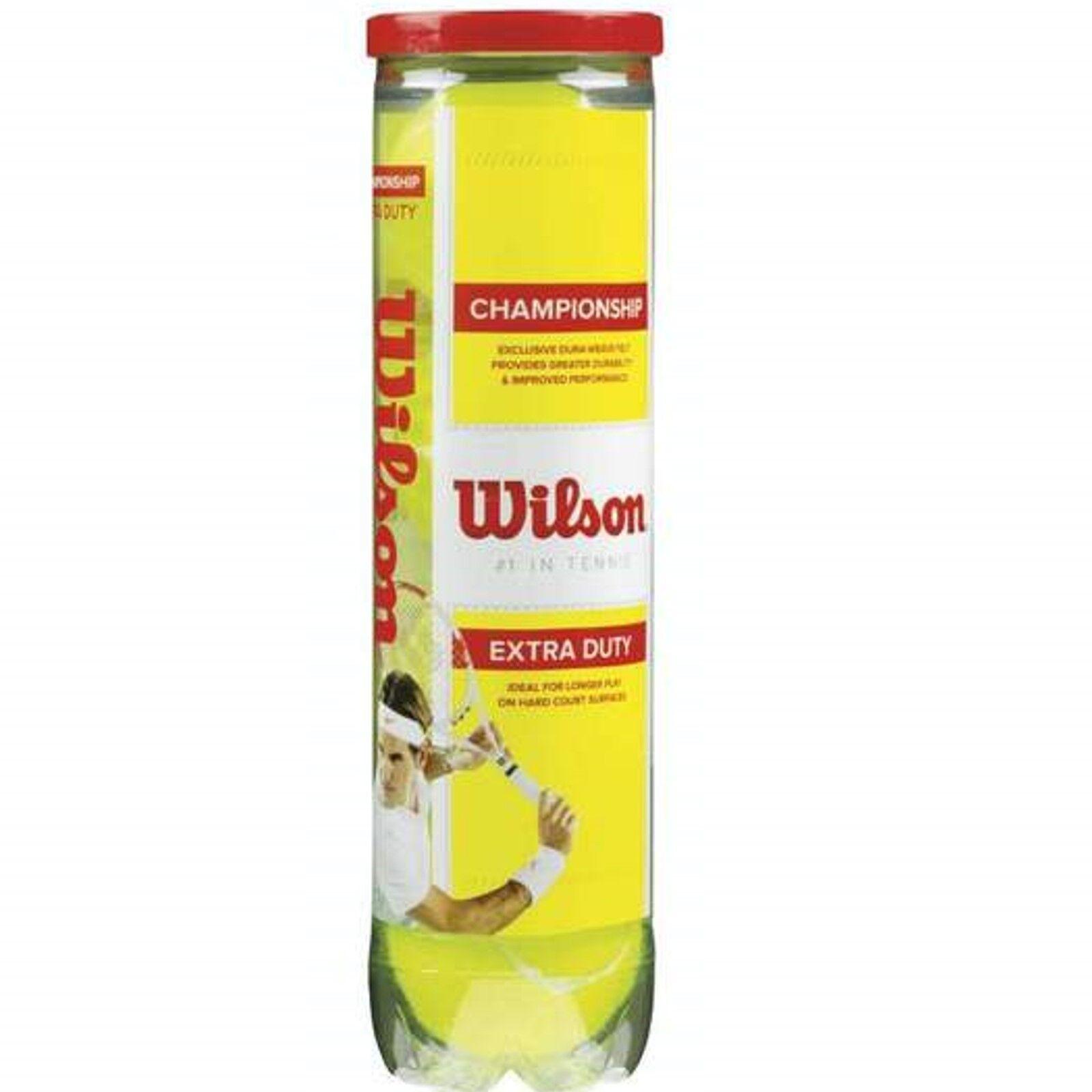 Wilson Championship Tennisbälle - ein Karton Karton Karton á 72 Bälle f477de