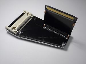 Neu-KA02-Schwarze-Premium-Externe-Pcmcia-Adapter-Fuer-Amiga-600-1200-748