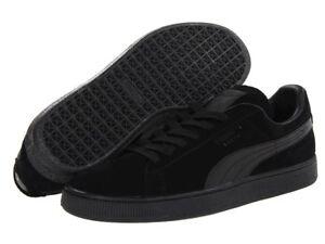check out f9ea7 7f988 Details about Puma Suede Classic+ LFS black/black/black 356328 01 Mens Shoes