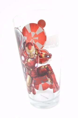 Marvel Avengers Age Of Ultron Iron Man Boy/'s Kids Drinking Glass Cup Tumbler