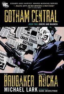 Gotham-Central-Book-2-Jokers-and-Madmen-Brubaker-Ed-Rucka-Greg-Good-Book