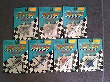 Fast Lane AIRPLANES Lot 7 Models MIG29 F14 F16 F18 Harrier Nighthawk Apache 1991